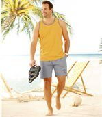 Pack of 2 Men's Hipsters - Grey Black  preview3