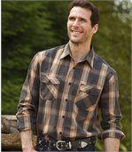 Popelínová košeľa Montana Road preview1