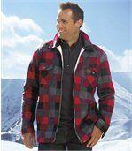 Flanellen overhemd met fleecevoering preview1