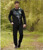 Sportowe spodnie z moltonu preview2