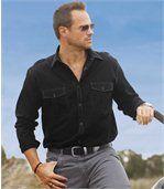 Popelínová košile Blacky West preview1