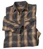 Popelínová košeľa Montana Road preview2