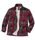 Flanellen overhemd met fleecevoering preview2