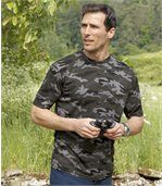Set van 2 camouflage T-shirts preview2