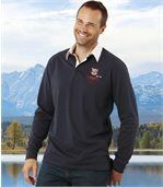 Poloshirt im Rugby-Look preview1