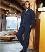 Klasické flanelové pyžamo preview1