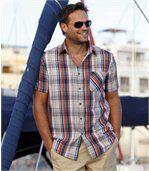 Farebná kockovaná košeľa preview1