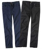 2er-Pack Stretch-Jeans preview1