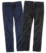 Sada 2 strečových džínů preview1