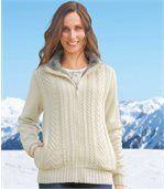 Pletený hrejivý sveter preview1