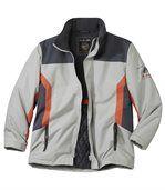 Men's Grey Top Performance Parka Coat
