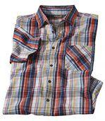 Kostkovaná košilev lichotivých barvách preview2