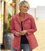 Women's Coral Safari Jacket  preview1