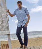 Elastické výnimočne ľahké džínsy