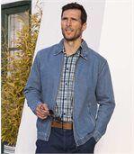 Letná džínsová bunda