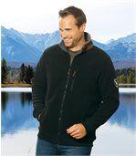 Teplá bunda s podšívkou z umelej kožušiny preview1
