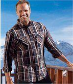 Het 'Montagne' overhemd van popeline preview1