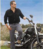 Šedé strečové džíny Regular preview2