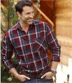Flanelová kostkovaná košile Woods preview1