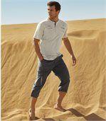 Tříčtvrteční kalhoty Exploration zmikrovlákna preview2