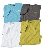 4er-Pack T-Shirts Summer Palm preview1