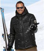 Men's Black Atlas® Padded Jacket