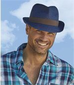 Tweekleurige hoed preview2