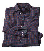 Flanelowa koszula w kratę Revers Chambray preview2
