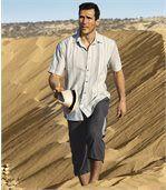 Trojštvrťové nohavice zmikrovlákna Exploration preview3
