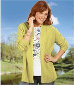Gilet Tricot Anis preview3