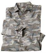 Camouflage hemd van popeline preview2