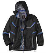 Men's Black Atlas Proteck(R) Parka Coat
