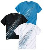 3er-Pack T-Shirts aus Polyester preview1