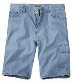 Jeans Bermuda Bleach preview1