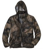 Wasserabweisender Windbreaker Camouflage  preview3