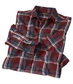 Károvaná flanelová košeľa Woods preview2