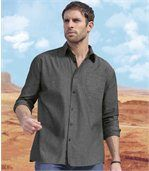 Chemise Chambray Grey preview1
