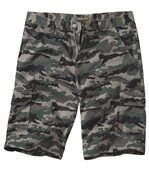Men's Khaki Camouflage Bermuda Shorts preview1