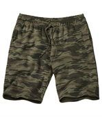 Bermuda mit Camouflage-Muster preview1