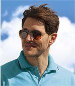 Piloten-Sonnenbrille mit Etui preview3