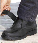 Lage boots met klittenband preview2