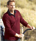 Polo tričko Indian sdžínsovým golierom preview1