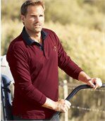 Poloshirt Legendary Indian mit Jeanskragen preview1