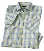 Kockovaná košeľa skrátkymi rukávmi preview2