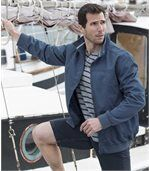 Men's Blue Twill Jacket