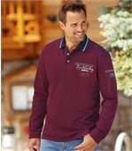 Men's Winter Cup Long Sleeve Polo Shirt preview1
