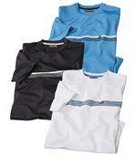 Set van 3 T-shirts Natuursport preview1