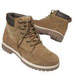 Outdoorové semišové topánky preview1