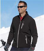 Men's Black Ultra-Protection Softshell� Jacket