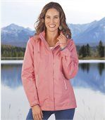 Women's Pink Windbreaker Jacket